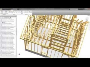 3D Mechanical BIM model